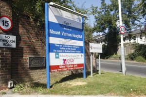 FUTURE OF MOUNT VERNON CANCER CENTRE IN DOUBT